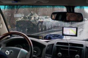 Въезд военной колонны в Луганск: реакция соцсетей
