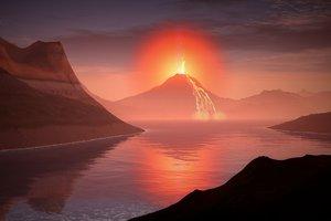 Эфиопский вулкан улыбнулся: невероятное фото