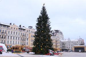 В Киеве разгорелись споры из-за новогодней елки