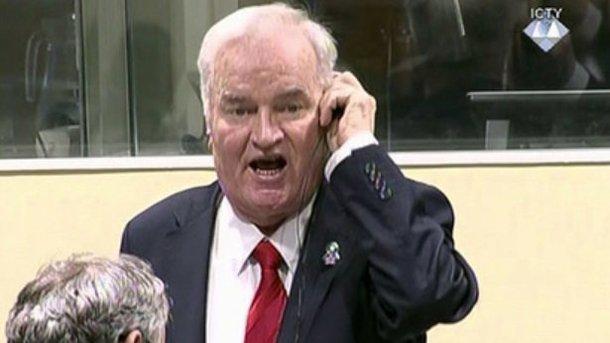 Ратко Младич. Фото: Скриншот