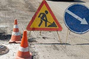 В Киеве ограничат движение на одной из улиц для ремонта асфальта