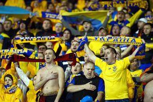 В новом рейтинге ФИФА сборная Украины опустилась на пять строчек