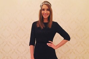 Katya Osadcha came out in a dress for 15 thousand hryvnia