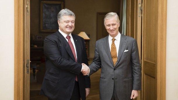 Монарх Бельгии поведал Порошенко, как спал внаполу вкиевской квартире