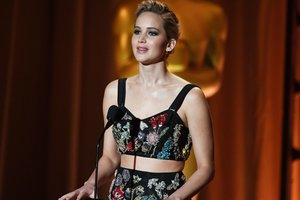 Jennifer Lawrence commented on the scandal with the theft of her Nude photos