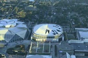 Видеошок: в США за 15 секунд снесли огромнейший стадион