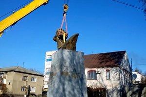 В Одесской области избавились от памятника Марксу