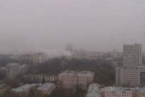 В Киеве из горящего дома эвакуировали 10 человек