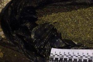 В Запорожье женщина гуляла по улицам с пакетом марихуаны