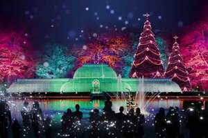 В Лондоне уже открыли фантастический аттракцион к Рождеству