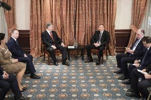 Порошенко обсудил с Алиевым вопросы энергетики