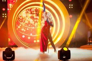 Оля Полякова призналась, что каждый раз, выходя на сцену, борется со страхом