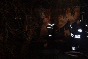 Под Киевом мужчина погиб во время пожара в доме