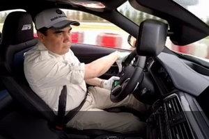 Видеошок: президент Туркменистана устроил дрифт на BMW M3