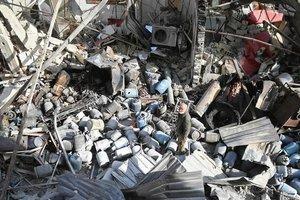 В результате авиаударов в Сирии погибли 57 человек