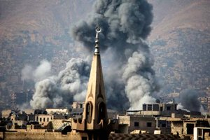Более 50 погибших мирных жителей: появилось видео авиаудара РФ в Сирии