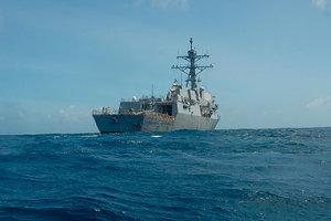 В Черное море вошел ракетный эсминец ВМС США