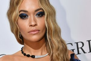 Rita Ora posted a photo in a very revealing outfit