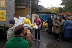 В декабре волонтеры доставят наборы выживания в 43 населенных пункта прифронтовой зоны