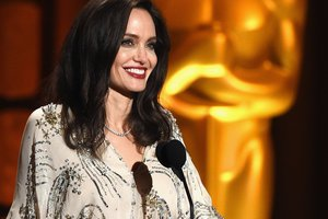 Angelina Jolie ate snakes on the set of her movie