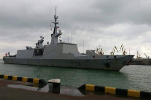 В Одессу прибыл военный фрегат Франции
