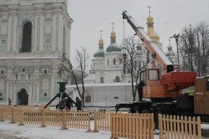 Как Киев преображается к Новому году