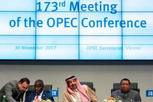 ОПЕК и партнеры договорился продлить пакт о сокращении добычи нефти
