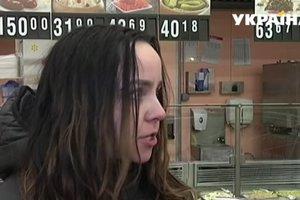 Девушка поселилась в торговом центре во Львове