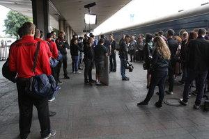 В Киеве ищут взрывчатку на Центральном ж/д вокзале: люди эвакуированы