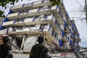 У берегов Эквадора произошло сильное землетрясение