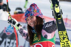 Красавица из Лихтенштейна выиграла супергигант на Кубке мира в Канаде