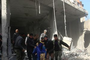 Военная авиация Сирии нанесла удары по городам страны