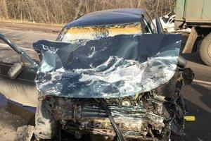 Жесткое ДТП на Донбассе: есть погибший и раненые