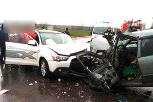 В Полтавской области произошло ДТП с пятью пострадавшими
