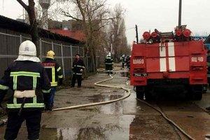 В Одесской области пылала база отдыха