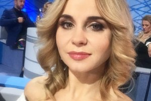 Pregnant Lily Rebrik was published in the original outfit for three thousand hryvnias