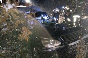 На Прикарпатье в ДТП погиб водитель иномарки