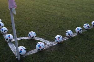 В Киеве появятся 60 полей для футбола