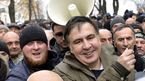 Прокуратура Украины: Саакашвили объявили врозыск