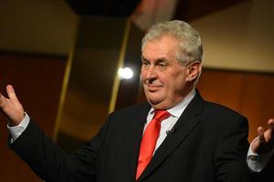 Президент Чехии Земан нарушил свое предвыборное обещание