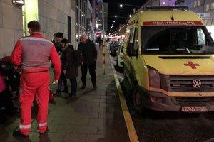 Российская скорая спасла прохожего в Стокгольме