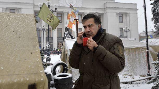 Милиция  нетрогает Саакашвили, чтобы избежать кровопролития— Геращенко