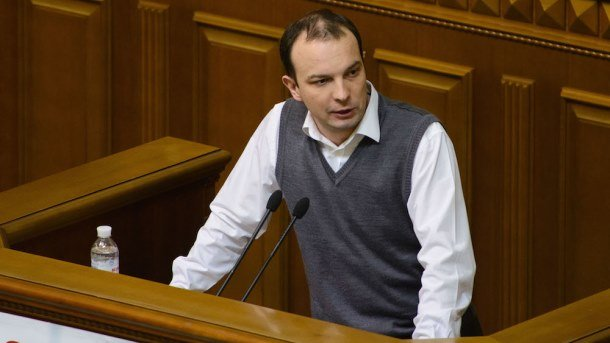 Егор Соболев. Фото: samopomich.ua