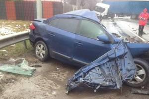 У Києві сталася смертельна ДТП через мокру дорогу