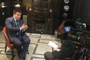 Климкин рассказал подробности встречи с Лавровым