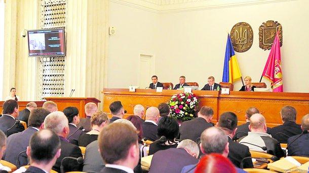 Сессия прошла без потасовок. Фото: kharkivoda.gov.ua