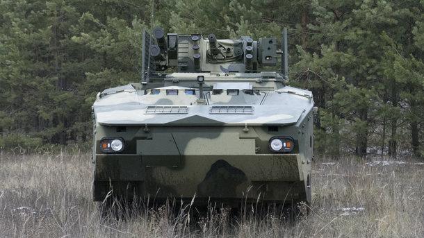 Киев испробовал БТР, созданный постандартам НАТО