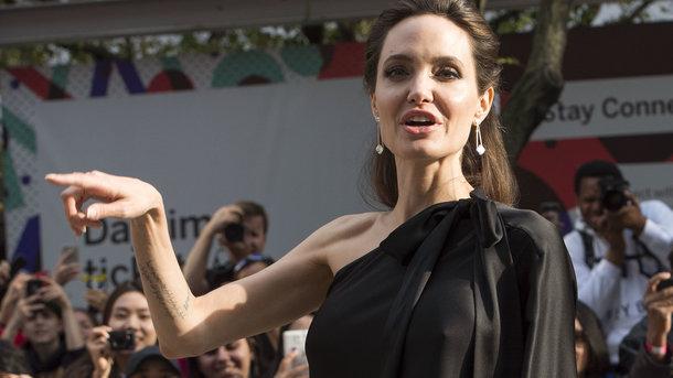 Анджелина Джоли. Фото: AFP