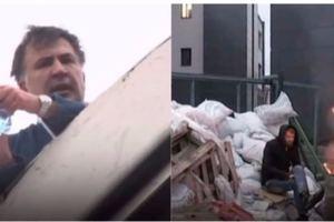 Побег Саакашвили с крыши под Раду и забаррикадированный NewsOne: главные события недели