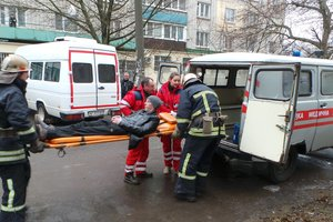 """Для запорожских спасателей """"взорвали"""" многоэтажку"""